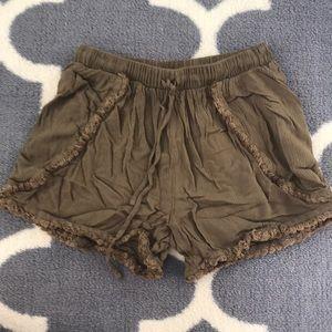 Comfy flowy women's shorts